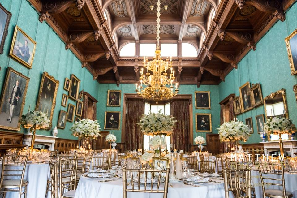 Knowsley Hall Dining Room