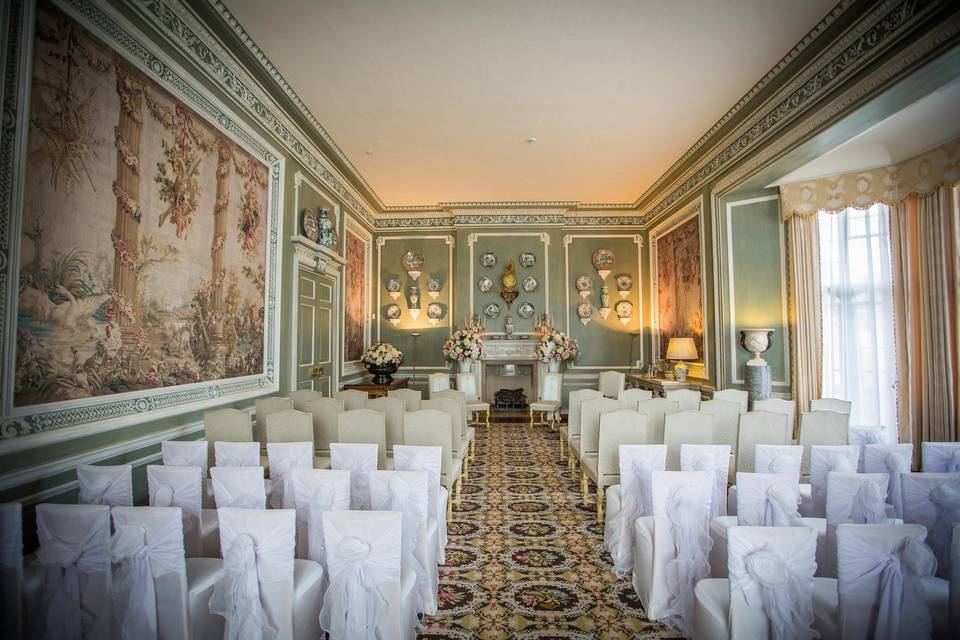 Ceremony - Castle Dining Room