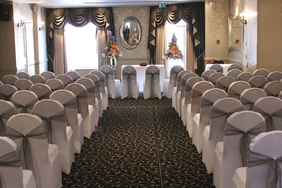 Rose Suite Civil Ceremony