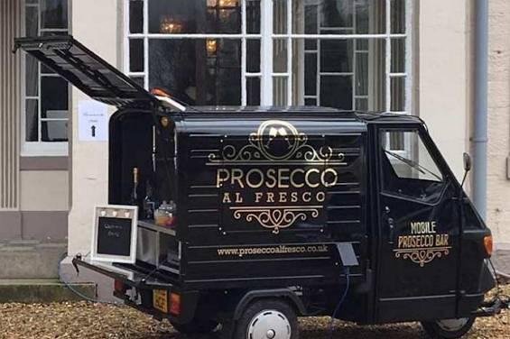 Prosecco Al Fresco - Bar Hire