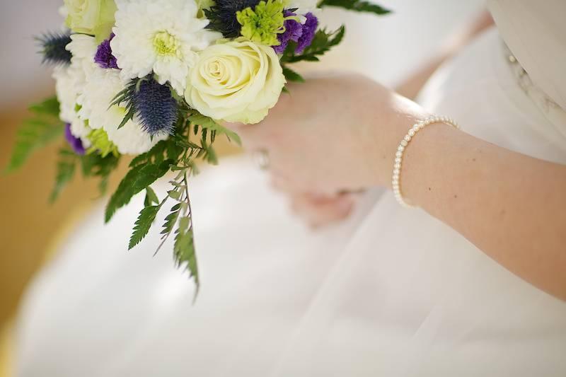 Bridal Pearl Kerensa bracelet