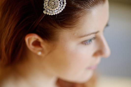 Bridal tiara headband Mai
