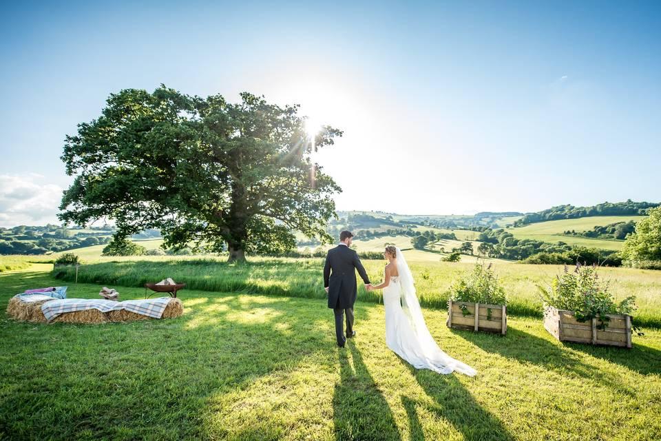 Weddings on a Hill
