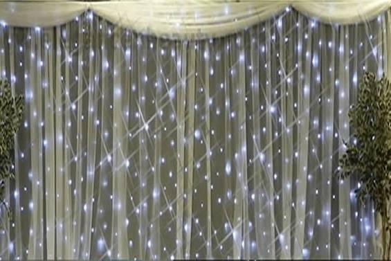 Backdrop and drapes