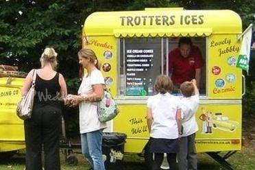 Trotters Ices Van Yorkshire
