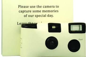 Ivory Single Use Disposable Camera