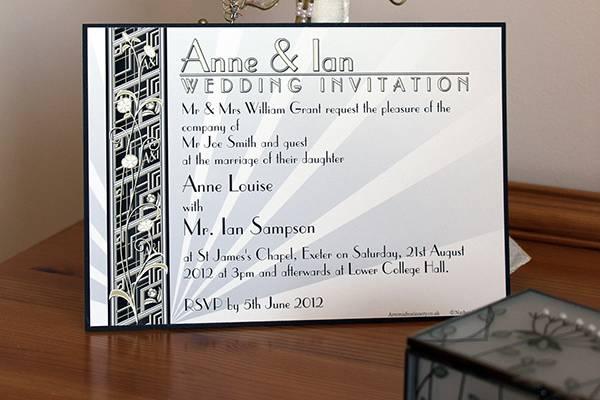 Mounted Invitation