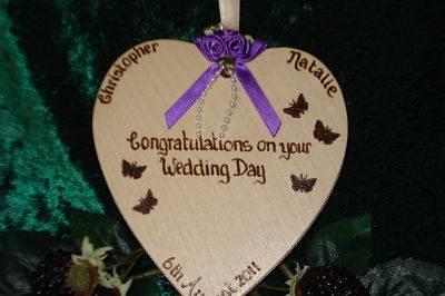 Bridal Heart Keepsake