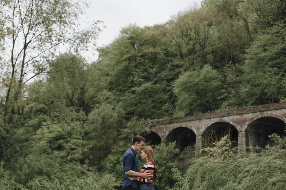 Iron Bridge Engagement Shoot