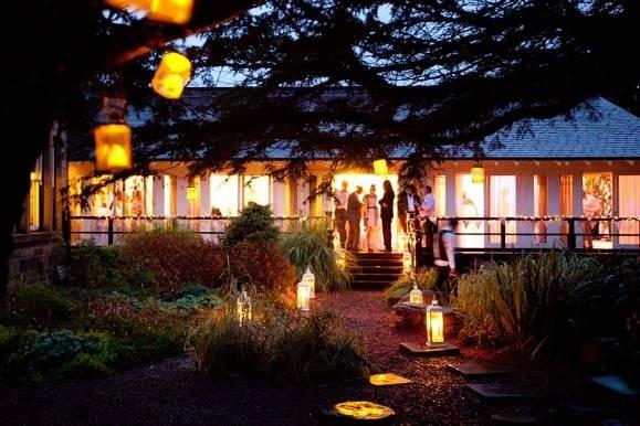 Restaurant Terrace at Horton Grange