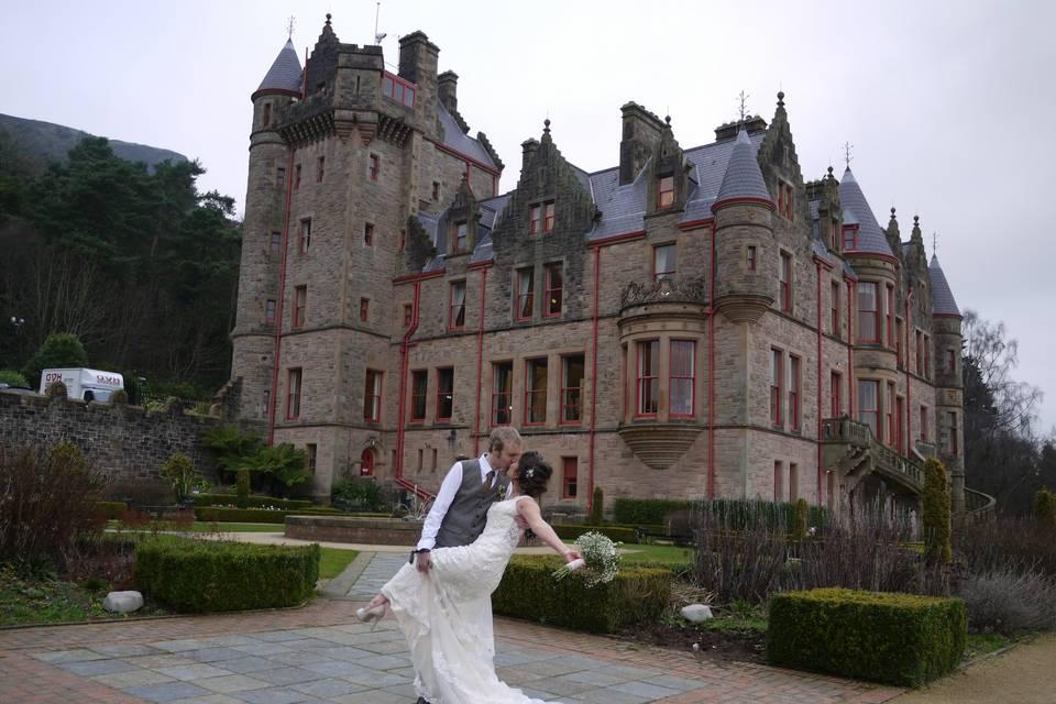 Belfast Castle Wedding Photos