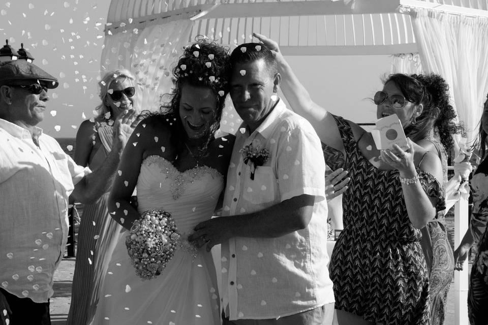 Cyprus summer wedding