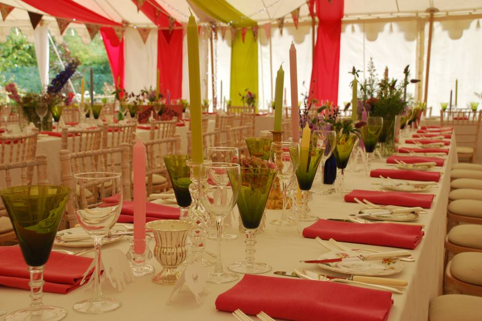Wedding Plate Hire Cheshire