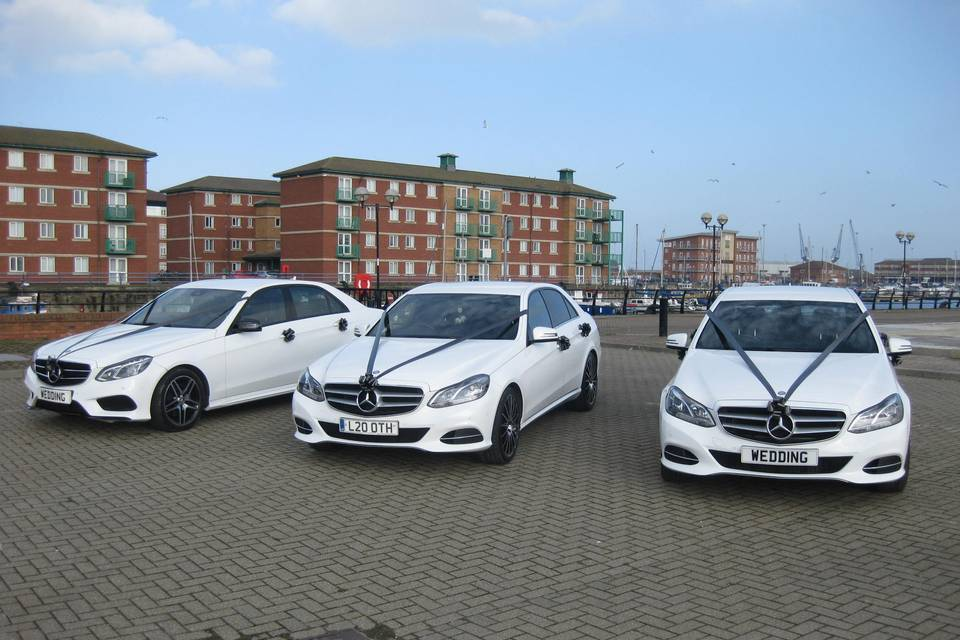 Mercedes Wedding Cars