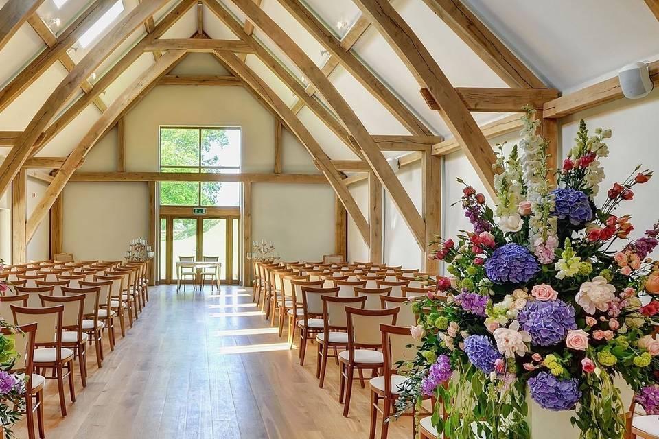 Luxurious Ceremony Barn