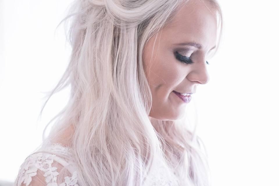 Glamorous bride