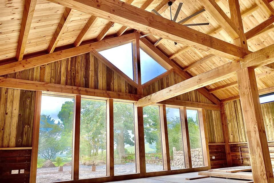 The Big Barn Breakfast room