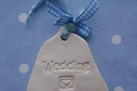 Wedding Bell with Heart Symbol