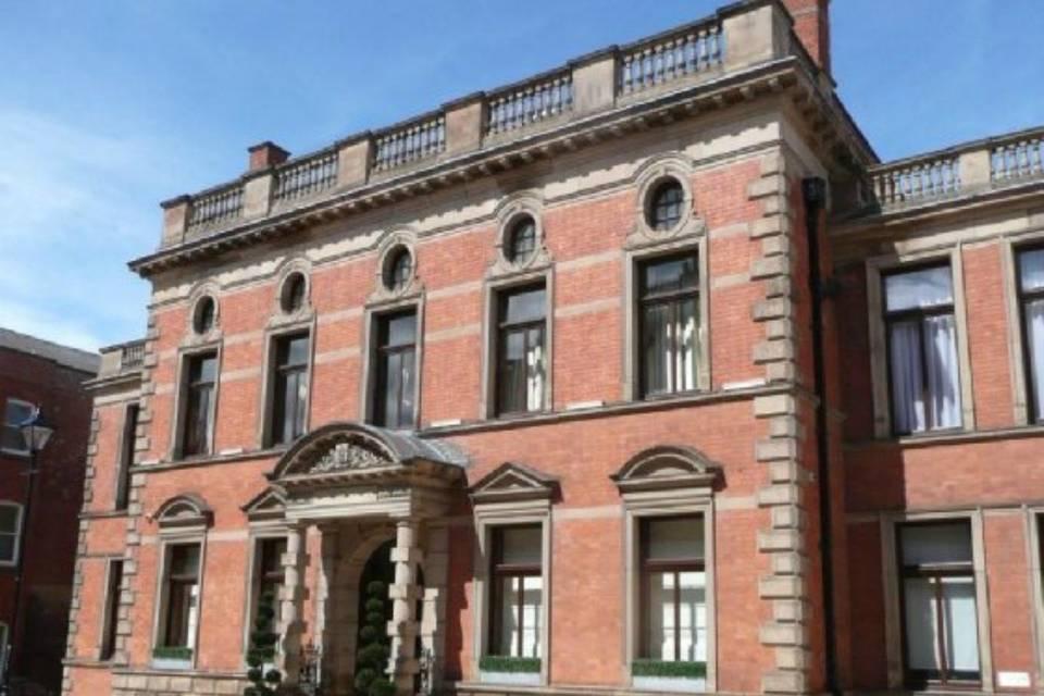 Historical building facade