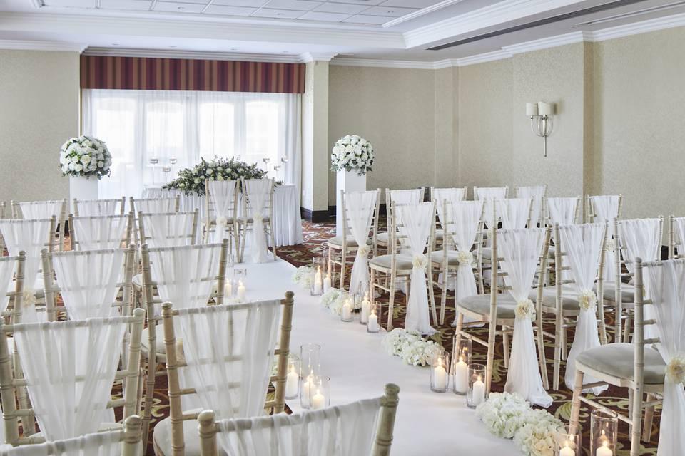 Worsley Suite - Wedding