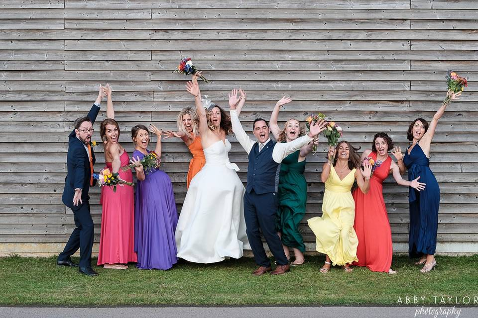 Fun group photo - Abby Taylor Photography