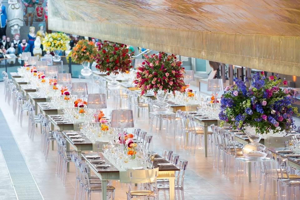 Wedding Breakfast under the Hull