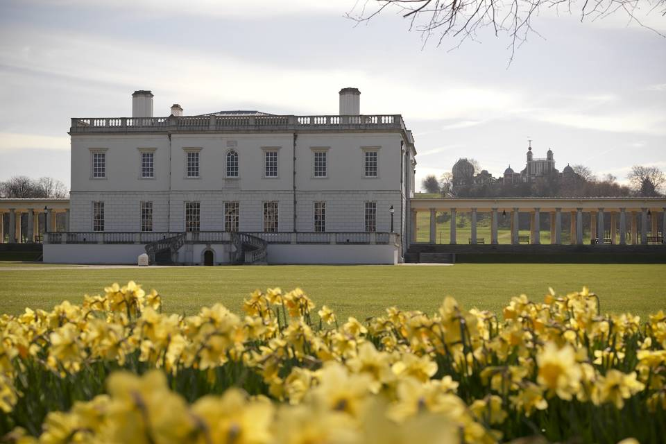 Spring time at Queen's House