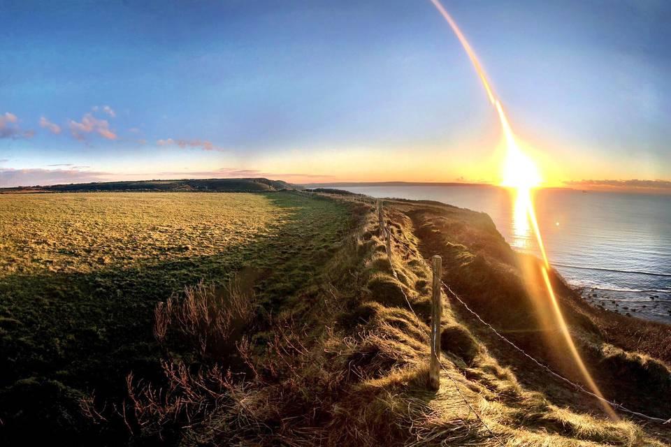 Coast Field above Druidstone