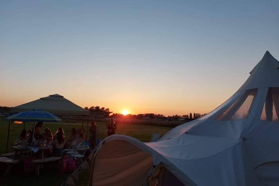 Glorious Norfolk sunset