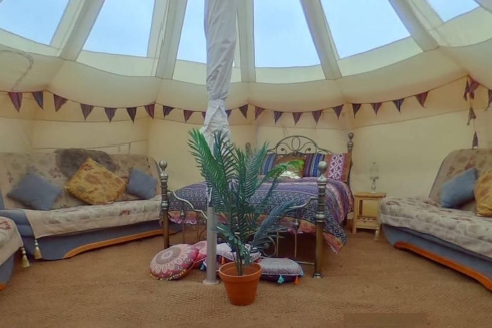 Valentina bell tent
