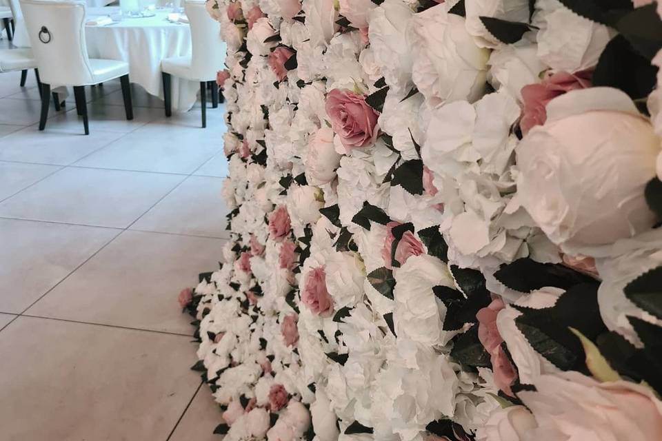 Charlotte flowerwall
