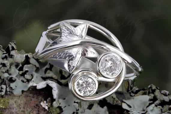 Nature-inspired wedding jewellery