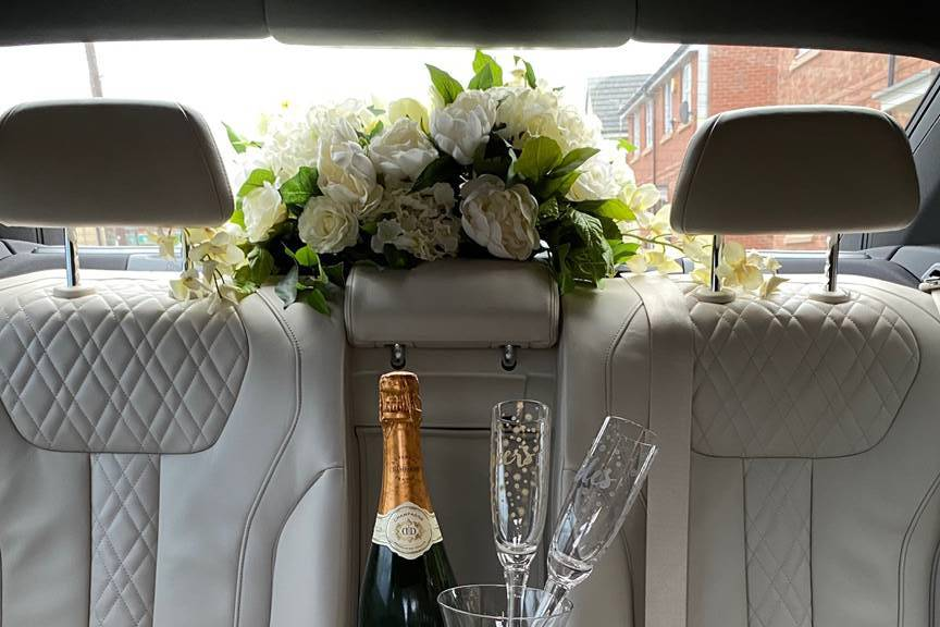 Celebrate with a glass of chilled champagne