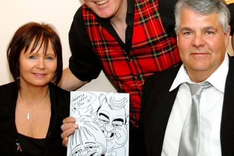Neilsart Wedding Caricatures