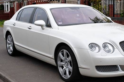 Bentley Flying Spur In White