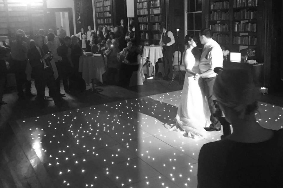 Intimate first dance