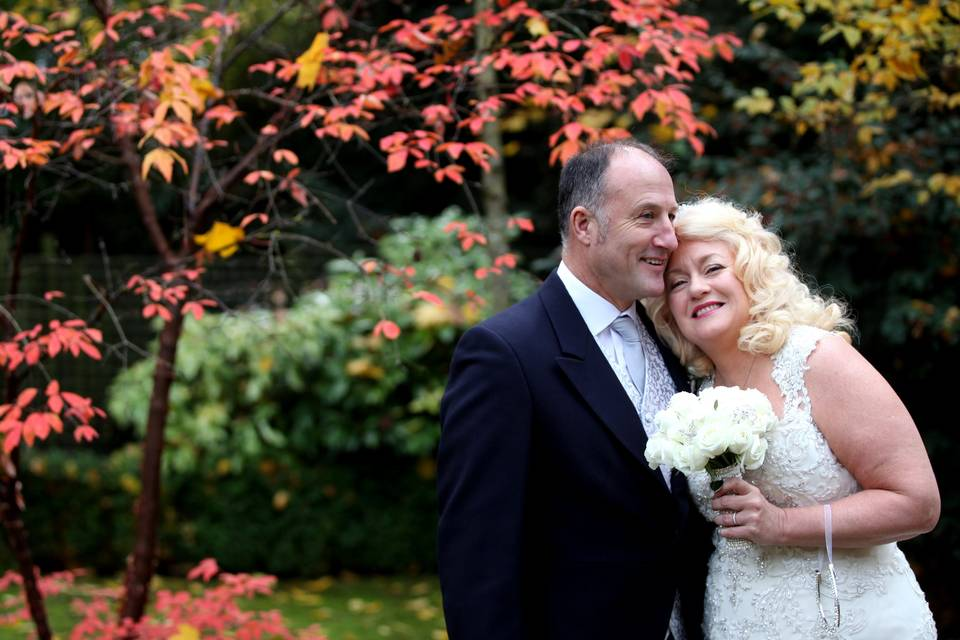 Autumnal wedding - Parkwin Photography