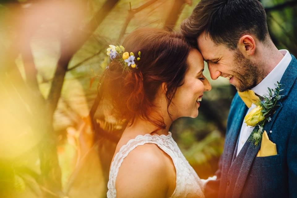 All smiles - J S Coates Wedding Photography
