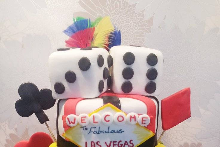 Vagas themed cake