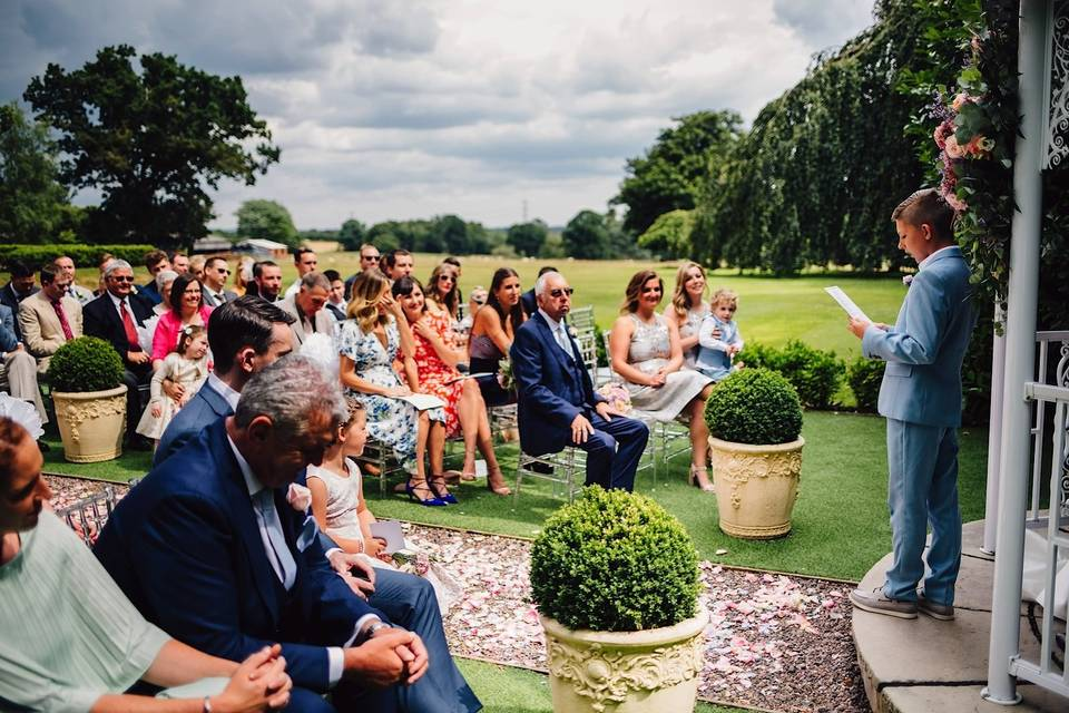 Pendrell Hall Exclusive Country House Wedding Venue 40