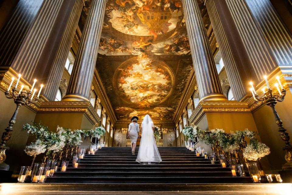 The Painted Hall, Old Royal Naval College, Greenwich