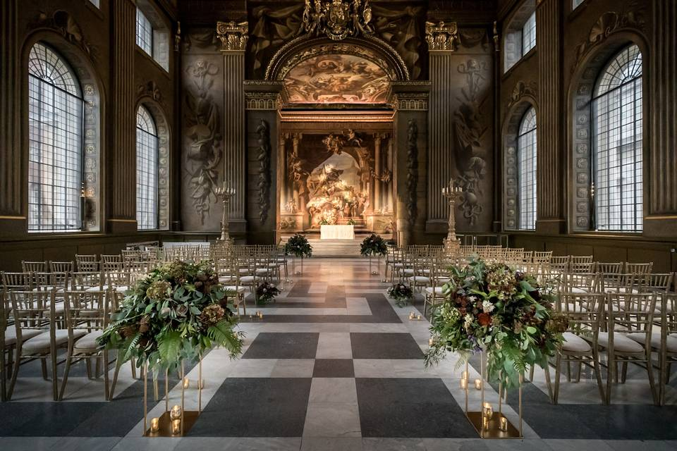 The Painted Hall civil ceremony
