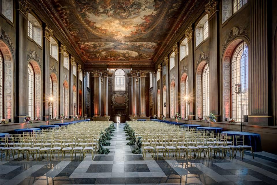 Regal and refined wedding venue
