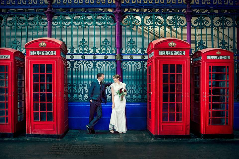 Four phone boxes!