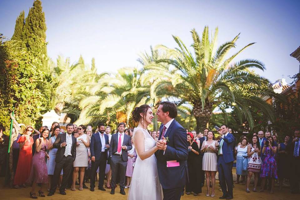 First dance in Andalucia