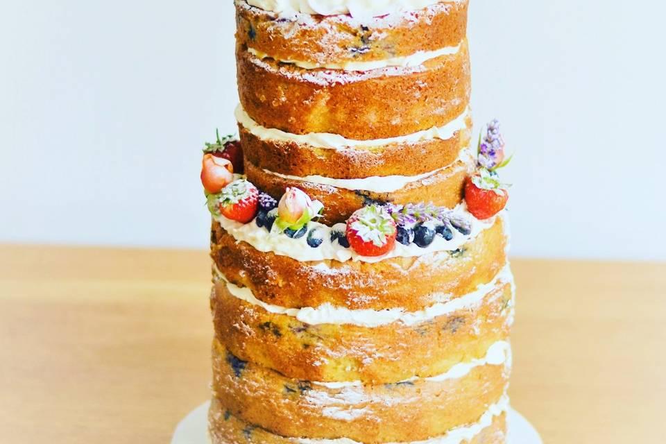 Fruit-based cake
