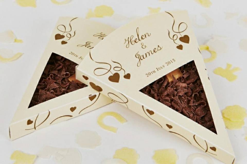 Personalised Slice in Gold