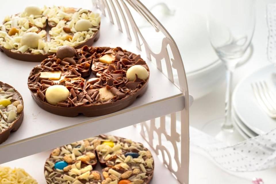 Quirky Mini Chocolate Pizzas