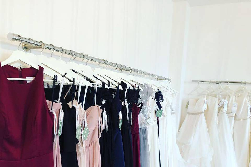 A selection of our gowns