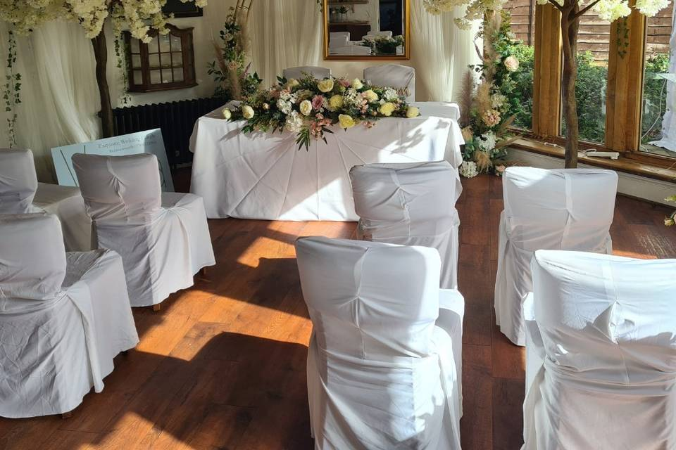 Ceremony at The Waterside Venu
